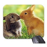 かわいい動物のマウスパッド滑り防止防傷に長持ちするトレンディなオフィスデスクトップアクセサリー