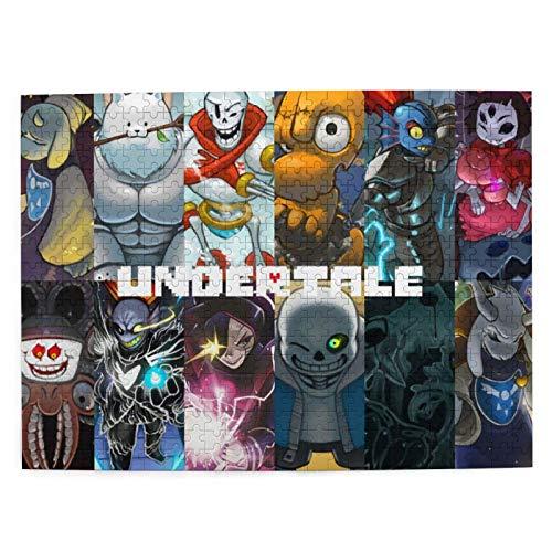 Undertale sans Picture Puzzle The Child - Juego de 500 pieza
