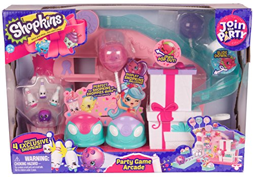 Shopkins Join the Party Large Playset - Party Game Arcade