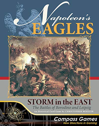 Tactical Wargame Napoleon's Eagles: Storm in The East - The Battles of Borodino and Leipzig