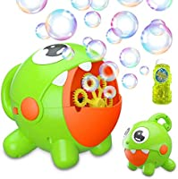 Bubble Machine, Bubble Toy for Kids Automatic Bubble Machine 3000 Bubbles Per Minute, Durable Bubble Blower for Kids,...
