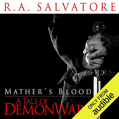 Mather's Blood audiobook cover art