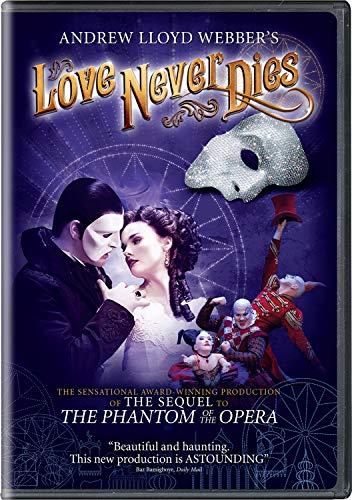 ANDREW LLOYD WEBBER LOVE NEVER DIES DVD