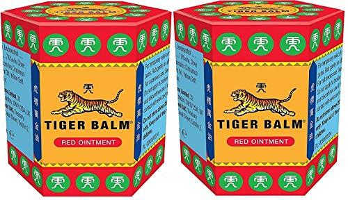 Bálsamo del Tigre - Ungüento, paquete de 2unidades de 21g (rojo)