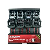 Husky 12 FT x 1 IN Ratchet Tie-Downs 4 Pack by Husky