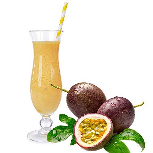 Maracuja Molkepulver Luxofit mit L-Carnitin Protein angereichert Aspartamfreier Wellnessdrink (1 kg)