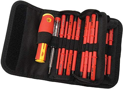 Draper 5776 Interchangeable Insulated Screwdrivers (18 Pieces)