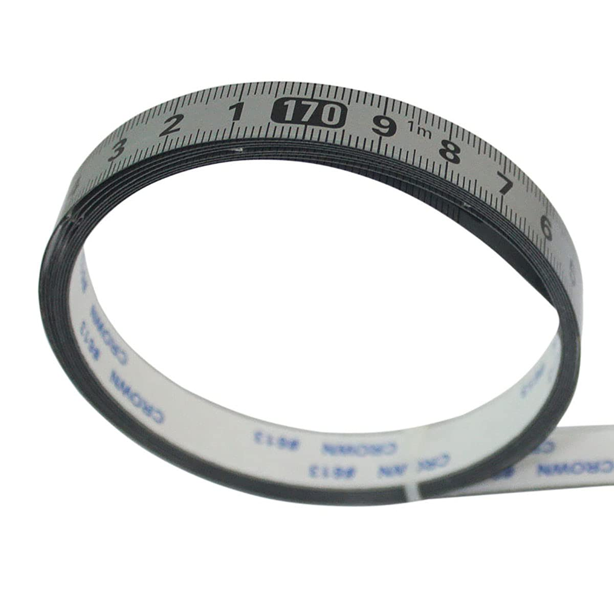 1PCS Carbon Steel Self-Adhesive Measuring L 2m Tape Ruler Max 74% OFF A surprise price is realized Sticky