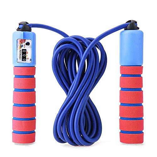 Blesser Corde à Sauter Enfant Adulte Femme, Jump Rope Cable Crossfit Fitness Gym Weighted Boxe Portable Réutilisable Corde...
