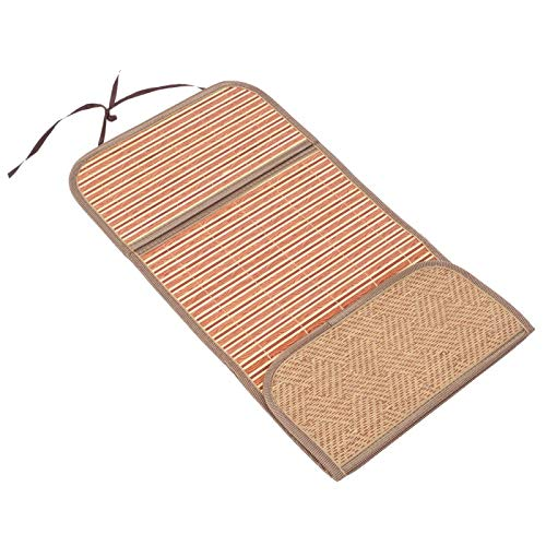 Germerse Cochecito Cool Pad, Cochecito Almohadilla de bambú Buena transpirabilidad Absorción del Sudor Proceso de Bordes de Alta Densidad Material de bambú Fácil de Limpiar para la(75 * 30)