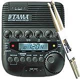 Tama Rhythm Watch RW200 - Metrónomo y baquetas Keepdrum (1 par)
