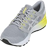 ASICS Women's Roadhawk FF 2 Running Shoes, 8M, MID Grey/White