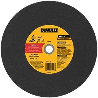 DeWalt DW8003 14 x 3/32 x 7/64 x 1 Stud Cutter Chop Saw Wheel, Light Metal