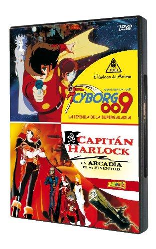 Pack: Agente Espacial 009 - Cyborg 009: La Leyenda De La Supergalaxia + Capitán Harlock: La Arcadia De Mi Juventud [DVD]