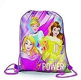 Disney Princess D96042 Mc Sacchetto per Calzature, 39 cm, Multicolore...