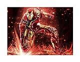 JAZC Puzzles Spiderman Marvel Avengers 4 Capitán América Iron Man Venom Rompecabezas de Madera 300/500/1000/1500 Piezas De Regalo Creativo Juguete de niños for Adultos descompresión (Size : 1000P)