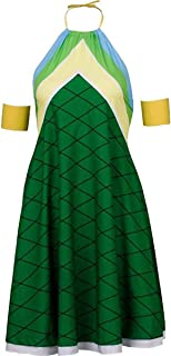Poetic Walk Fairy Tail Wendy Marvell Dragon Squama Cosplay Lolita Party Dress Costume