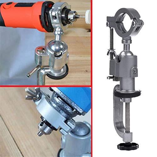 Ggaggaa 360 ° Universalschraubstock Bohrmaschine Schraubstock Halterung für elektrische Schleifmaschine Halterung für elektrische Bohrmaschine
