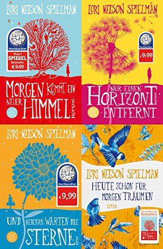 4 Romane von Lori Nelson Spielman im Set + 1 exklusives Postkartenset