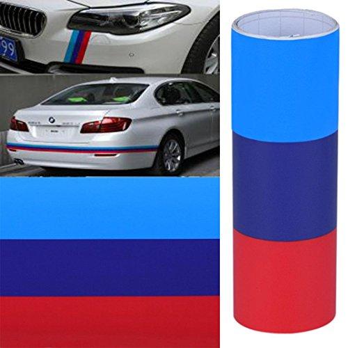 matoen (TM) Vinilo para BMW bandera m pegatina cintura líneabmwm sticker adhesivo