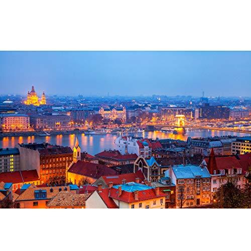 Tektalk Puzzle, 1000 Stück, Budapest
