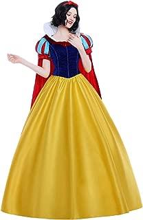 【 最高級 】monoii 白雪姫 ドレス 衣装 コスプレ プリンセス コスチューム 大人 レディース ハロウィン 衣装 コス 仮装 成人 d128