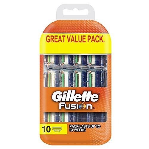 Gilette Fusion5 Rasierklingen für Männer, 10 Stück