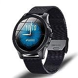 Impermeable conexión Bluetooth para Android Ios Smartwatch Hombres s Reloj Inteligente Teléfono Móvil Pantalla Táctil Completa Deportes Fitness Watch-E