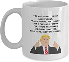 President Donald Trump Great Law Student Coffee Mug - Funny Novelty Gift