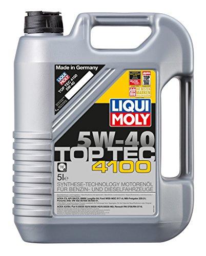 LIQUI MOLY 3701 Top Tec 4100 Motoröl, 5W-40, 5 L