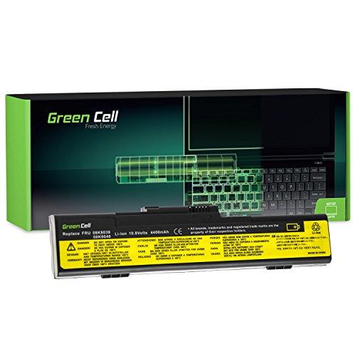 Green Cell® Standard Serie 92P1097 Laptop Akku für Lenovo IBM ThinkPad X30 X31 X32 (6 Zellen 4400mAh 10.8V Schwarz)