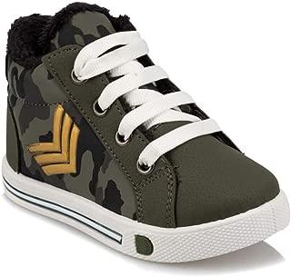 92.510834.B Haki Erkek Çocuk Sneaker Ayakkabı