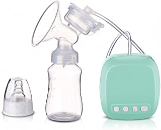 Electric Breast Pump Portable Nursing Breast Massager with 2 Adjustable Mode and 9 Pumping Suction Levels with Full Touchs...