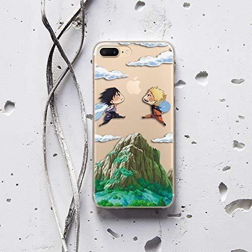 Naruto Shippuden vs Sasuke Bape Anime Manga Case for Apple iPhone 6 iPhone 6S iPhone 6/6S Protective Silicone TPU Rubber Case Cover AW1265