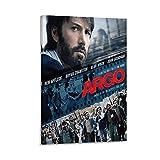 Argo Filmposter, dekoratives Gemälde, Leinwand, Wandkunst,