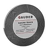 GAUDER Bande Magnétique Adhésive | Ruban Magnétique Extrêmement Autocollant | Rouleau Aimanté