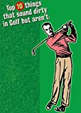 RSVP Top 10 Things That Sound Dirty in Golf Funny/Humorous Birthday Card