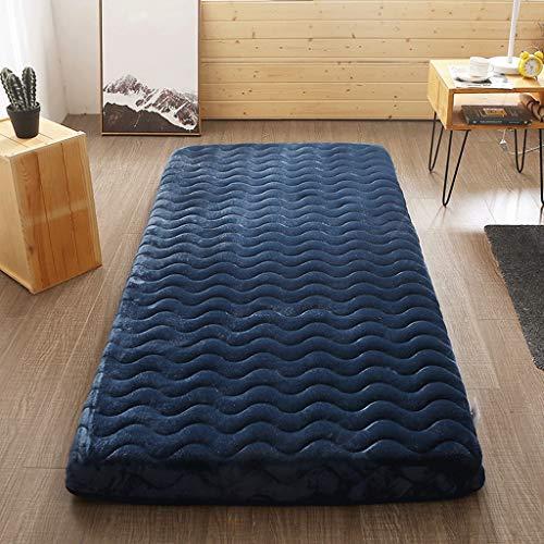 yangdan Colchón tapizado para cama individual, para estudiantes, dormitorio de tatami, cama doble, alfombrilla para dormir (color: A2, tamaño: 6 cm de grosor x 150 x 190 cm)