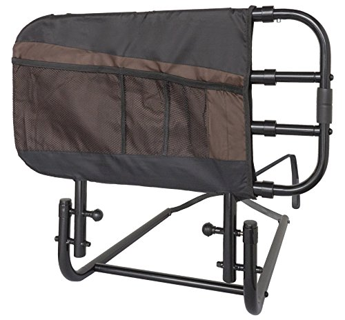Stander EZ Adjust Bed Rail, Adjustable Home Hospital Bed Rail and Bed...