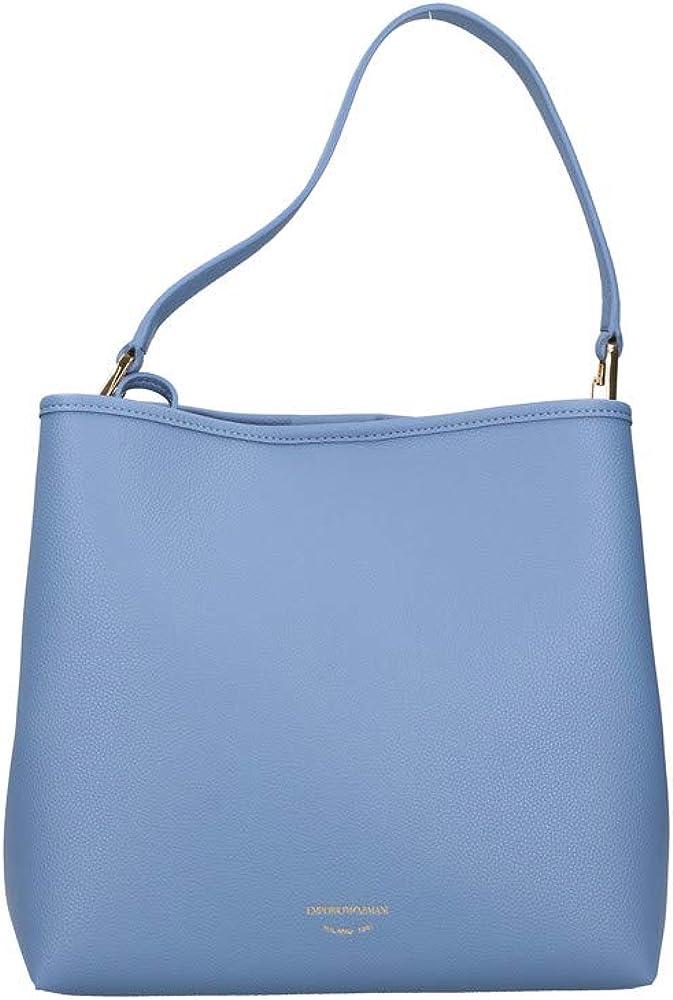 Emporio armani borsa da donna con pochette interna in pelle sintetica Y3E168 YFO5B