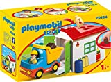 PLAYMOBIL 1.2.3 Camión+garaje, color carbón (70184) , color/modelo surtido