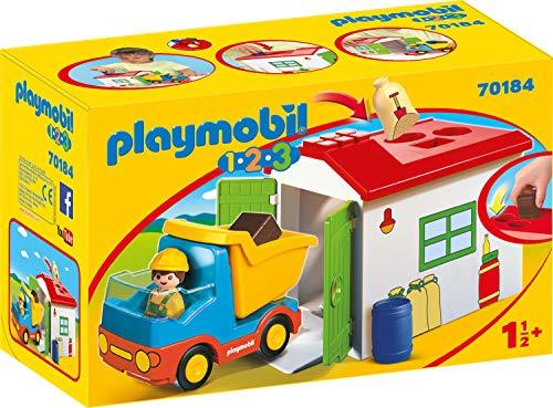 PLAYMOBIL 1.2.3 Camión garaje color carbón