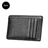 Thin Card Holder 3 Color Ladies Dollar Clips Rfid Credit Card Business Card Case Unisex