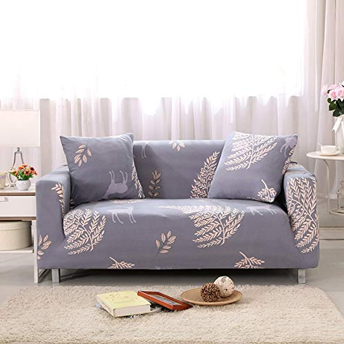 Christmas And Halloween All-Inclusive Stretch Sofa Cover Polyester Non-Slip Anti-Wrinkle Anti-Scratch Protection Sofa Cushions Are Dirt-Resistant, Good For Cleaning, Bedrooms, Restaurants, Hotels