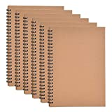 Zealor 6 Pack Soft Cover Notebook with Lined...