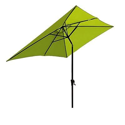 SUNSITT Rectangular Patio Umbrella Outdoor Mark...
