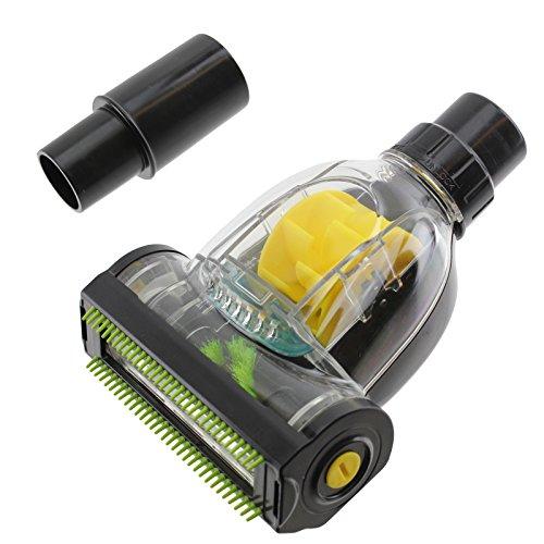 Spares2go Brosse pour aspirateur Shark Mini Turbo Brosse Aspiration des cheveux poils d'animaux et saleté 32 mm/35 mm