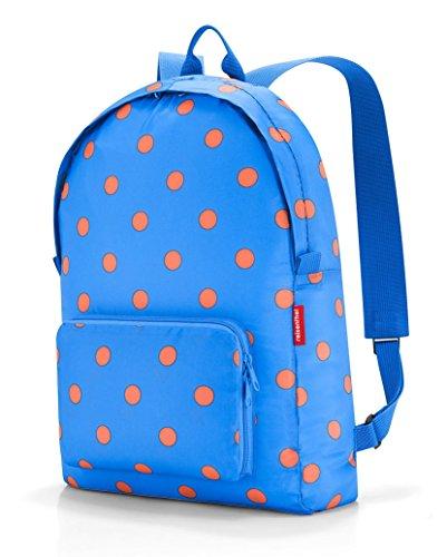 reisenthel mini maxi rucksack azure dots Maße: 30 x 45 x 11 cm/ Volumen: 14 l