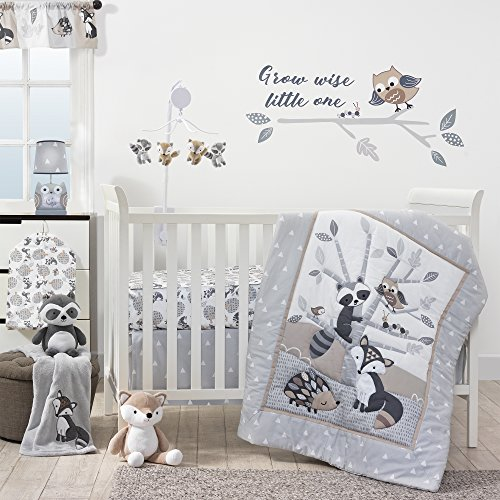 Bedtime Originals Little Rascals Forest Animals 3 Piece Crib Bedding...