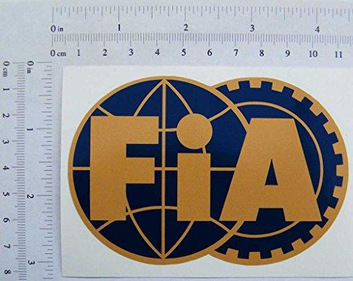 FIA Formel 1, Full Farbe Aufkleber, 107mmx73mm,,
